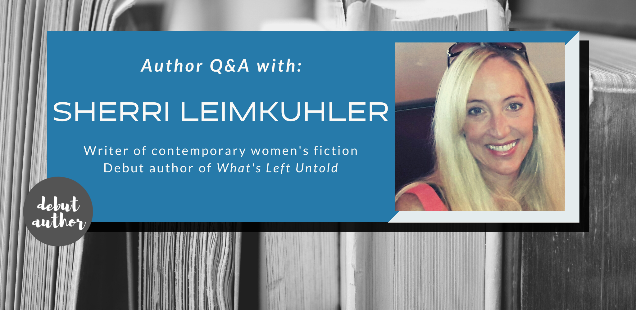 Q&A with Sherri Leimkuhler