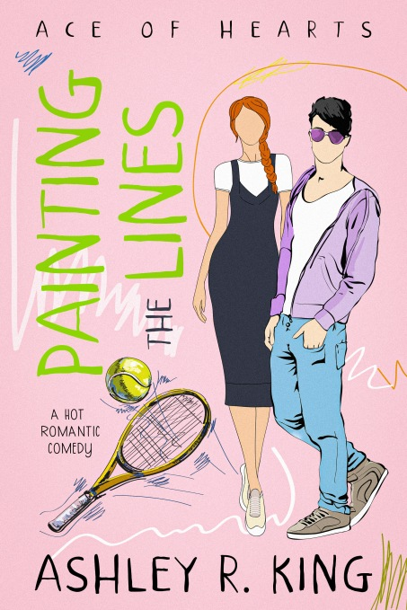 Painting the Lines by Ashley R. King DIGITAL cover