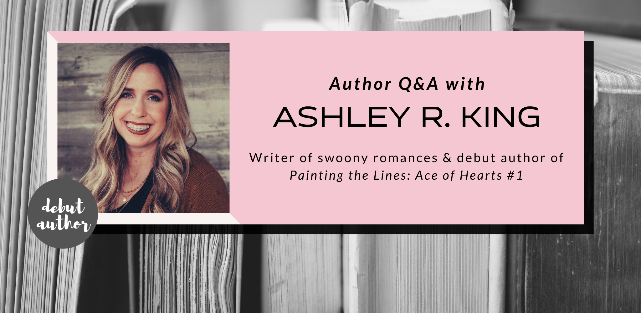 Q&A with Ashley R. King