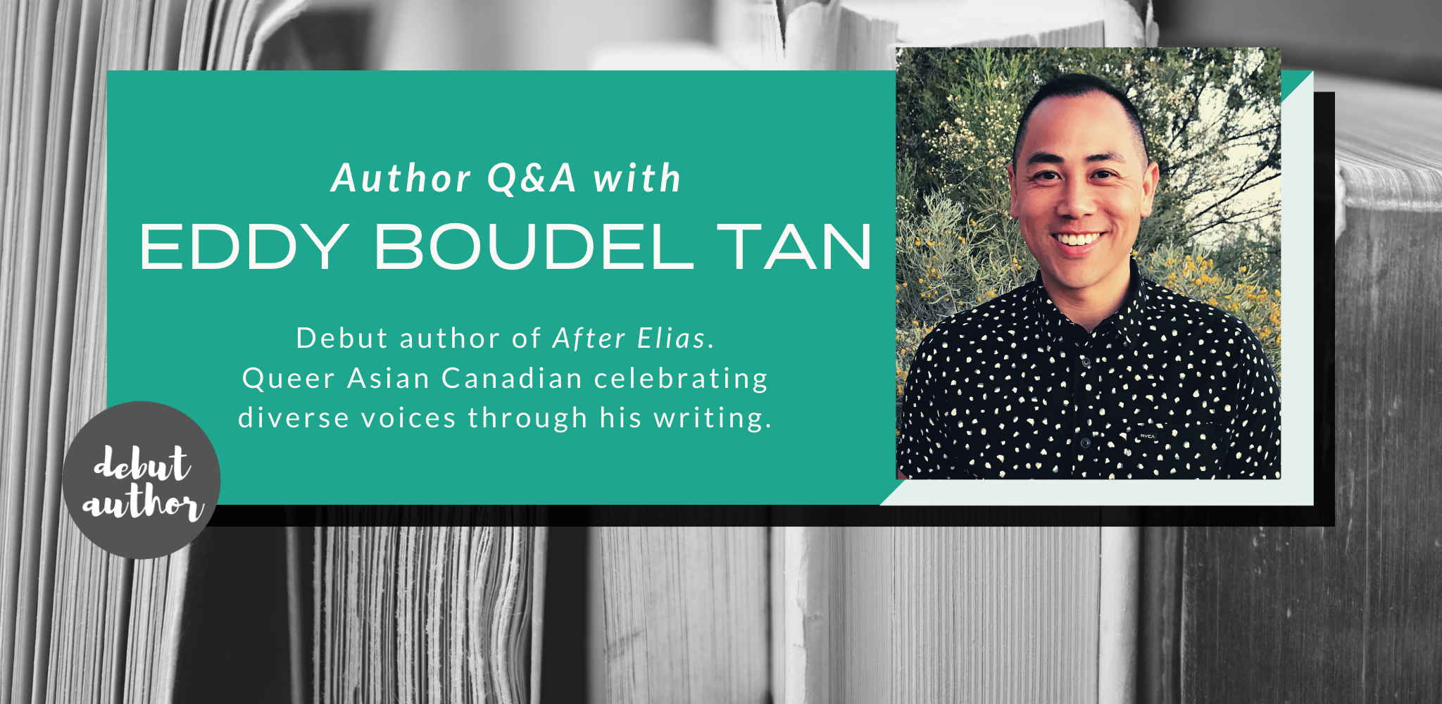 Q&A with Eddy Boudel Tan